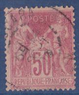 France N°104 - Oblitéré - TB - 1876-1878 Sage (Type I)