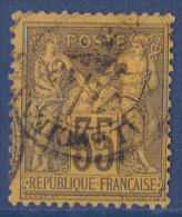 France N°93 - Oblitéré - TB - 1876-1878 Sage (Type I)