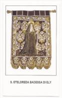 Santa Eteldreda Badessa Di Ely - Sc1 - M7 - Images Religieuses