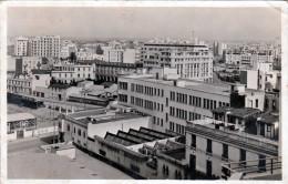 CASABLANCA Marokko, General View, La Fonciere District, Fotokarte Gel.1950?, Sondermarke - Casablanca