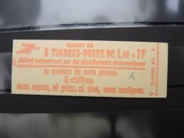 FRANCE - Carnet N° Yvert 2102 C1a -  Type Sabine 1f40 Rouge - Daté Du 30/7/80 - Luxe - à Voir - Lot P8878 - Carnets