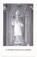 San Paterno Vescovo Di Vannes - Sc1 - M7 - Images Religieuses