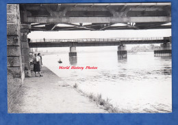 Photo Ancienne - STRASBOURG - Sous Le Pont De Kehl - Le Rhin - Rhein - Vers 1955 - Lieux