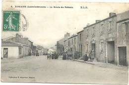 44  BOUAYE    LA  ROUTE  DU  PELLERIN - Bouaye