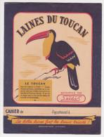 Protège Cahier SELDIS Laines Du TOUCAN - Protège-cahiers