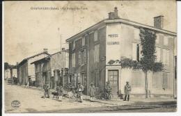 Carte Postale   : Chavanges - Le Bureau De La Poste - Other Municipalities