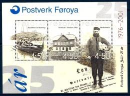2001  FAROER Foglietto Nuovo ** MNH - Isole Faroer