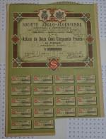 Sté Franco Algerienne à Alger - Afrique
