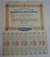 Cie Tunisienne Des Phosphates Du Djebel Mdilla à Tunis, K De 660 MF - Afrique
