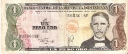BILLETE DE LA REPUBLICA DOMINICANA DE 1 PESO ORO DEL AÑO 1979  (BANKNOTE) - República Dominicana
