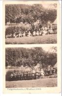 Militaria-Guerre De 1914-1918-Feldgottesdients A.d. Westfront-écrite En 1915-Feldpost-cachet Du Régiment (voir Scan) - Guerre 1914-18