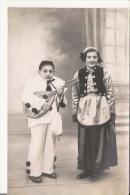 PORT VENDRES (66) PHOTO D'UN CARNAVAL AVEC ENFANTS COSTUMES (PHOTOGRAPHE SANCHEZ PORT VENDRES) - Non Classés