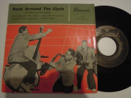Bill Haley And His Comets - Rock Around The Clock - Brunswick 10027 - Rock