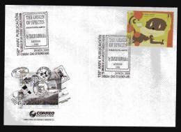 "Charles Robert Darwin  - 150 Años Del Libro ""The Origin Of Species"" - 2009 - Argentina - Cover - Matasellos Especial - Naturaleza"