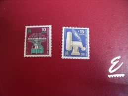 Timbres DDR  Neufs** Année; 1967   Michel .  N°   1254 / 55 - [6] République Démocratique