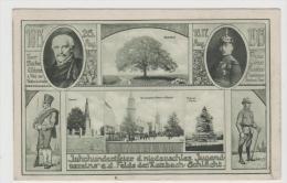 Ger424/ Privatganzsache , Hundertjahrfeier Der Katzbach Schlacht 1813 (Mehrbild Und Stempel) - Deutschland