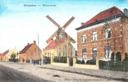 Sint-Laureins - Moleneinde. Uitg.De Graeve.13574.   Lot.2964 - Sint-Laureins