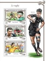 Z08 NIG15310a NIGER 2015 Rugby MNH - Niger (1960-...)