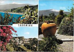 TAORMINA - Vue De L'Etna Et Jardin Public - Messina