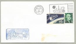 APOLLO  9 LAUNCH- OFFICIAL NASA-KSC CACHET - Briefe U. Dokumente