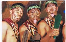 Cpsm MAHORI HAKA NZ - Indiens De L'Amerique Du Nord
