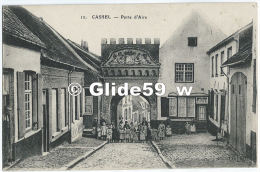 CASSEL - Porte D'Aire (animée) - N° 12 (2) - Cassel