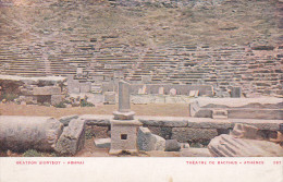 ATHENES, Greece, 1900-1910´s; Theatre De Bacchus - Greece