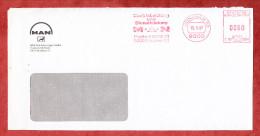 Brief, Hasler C00-366A, MAN, 80 Pfg, Muenchen 1987 (24594) - [7] West-Duitsland