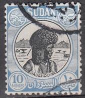 Sudan, 1951 - 10m Hadendowa - Nr.103 Usato° - Sudan (1954-...)