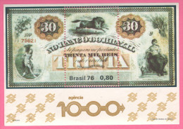 Brasil Brasile 1976 Da 0,80 - Etichette Di Fantasia