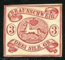 Brunswick, 1862. Scott 11, Unused. - Braunschweig