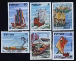 Vietnam Viet Nam MNH Perf Stamps 1983 : Sailing Boats / Boat (Ms410) - Viêt-Nam