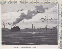 Milano Periferia Ferrovia Treni Treno 1951 R. Spampinato - Vecchi Documenti