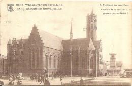 PK. GENT - WERELTENTOONSTELLING - 8. PAVILJOEN DER STAD GENT - KAART VERSTUURD 1913 - Gent