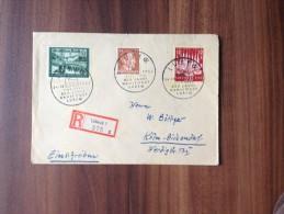 Einschreiben  ***  Drittes  Reich   1943 - 800 Jahre  Lübeck  *** - Stamps