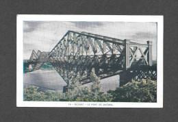 PONTS - LE PONT DE QUÉBEC - BRIDGE - PAR ISIDORE BEAUDOIN - Ponts