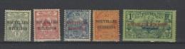 Nouveles Hébrides Nr 1-5 * - France (former Colonies & Protectorates)