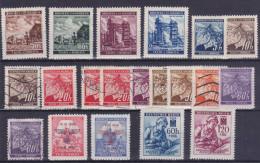 Böhmen Und Mähren - Deutsches Reich  - Lot Of 20 Stamps - Bohême & Moravie
