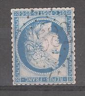 """CERES N° 60 Obl GC 3582 """" BLANC """" De ST SAINT ETIENNE DE MONTLUC, Loire Inférieure / Atlantique, IND 5 - 1871-1875 Cérès"""