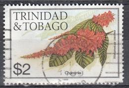 Trinidad & Tobago, 1989 - 2$ Chaconia - Nr.404j Usato° - Trindad & Tobago (1962-...)