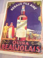Affiche -QUINA BEAUJOLAIS