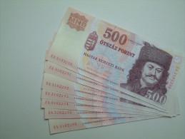 % Banknote - Hungary - 500 HUF - 2006 UNC - EA310 - Ungarn