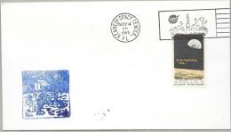 APOLLO 12 - LAUNCH DAY CANCEL- OFFICIAL NASA-KSC CACHET - Briefe U. Dokumente
