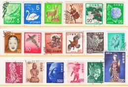 JAPAN  1067-87  (o)  1971-5  ISSUE - 1926-89 Emperor Hirohito (Showa Era)