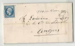 Ambulant De Limoges à Paris. LAC De 1862 - 1849-1876: Classic Period