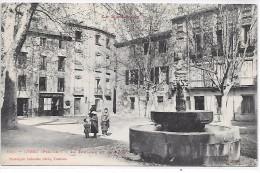 CERET - La Fontaine Et La Place - Ceret
