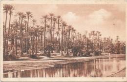 COLOMB-BECHAR  - ALGERIE  -  Centenaire en 1930 - La Rivi�re - ENCH33 -