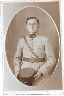 CARTE PHOTO - Portrait D'un Militaire  - ENCH33 - - Cartes Postales