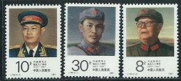 Cina Nuovo** 1987 - Mi.2115/17 - 1949 - ... Repubblica Popolare