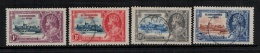 St. Kitts & Nevis 1935 SC 72-75 Used Siver Jubilee  George V - St.Kitts And Nevis ( 1983-...)